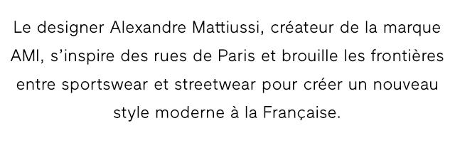 Le designer Alexandre Mattiussi,