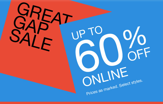 UP TO 60% OFF ONLINE