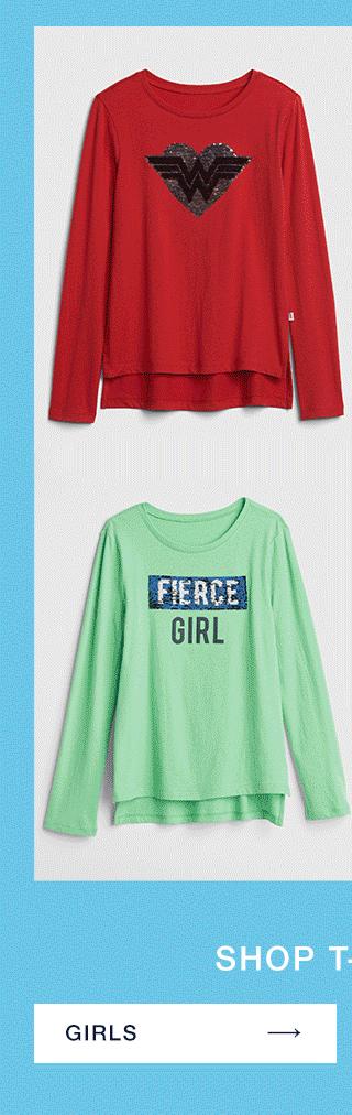SHOP T-SHIRTS                      GIRLS